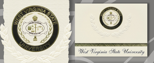 West Virginia State University Graduation Announcements