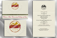 Western State University College of Law Graduation Announcements