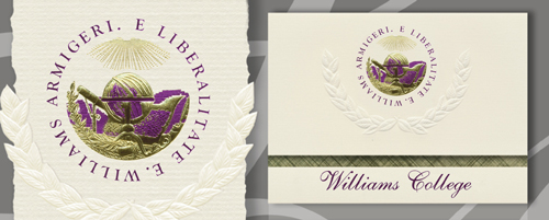 Williams College Graduation Announcements