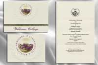 Platinum Style Williams College Graduation Announcement
