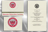 Worcester Polytechnic Institute Graduation Announcements